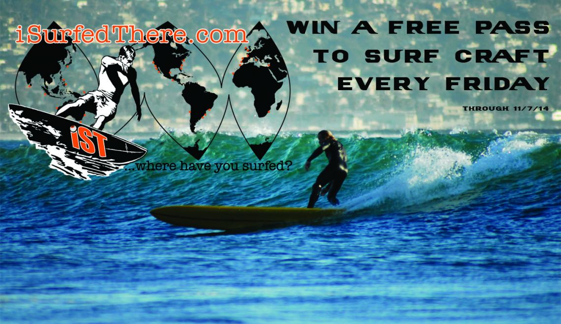 Win two free passes to Surf Craft at The Mingei International Museum!