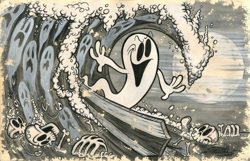 Stay stoked and or spooked!