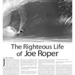 Joe Roper Article in Ocean Magazine - April/May, 2015